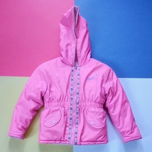2002 Junior Girls Barbie Pink Reversible Jacket